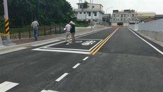把關滴水不漏 確保花壇學府路和彰員路新闢道路品質