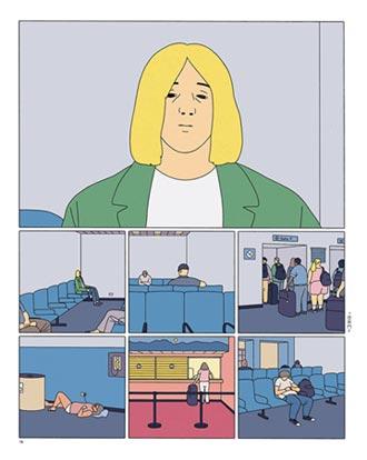 看漫畫如觀影 薩賓娜之死爆紅