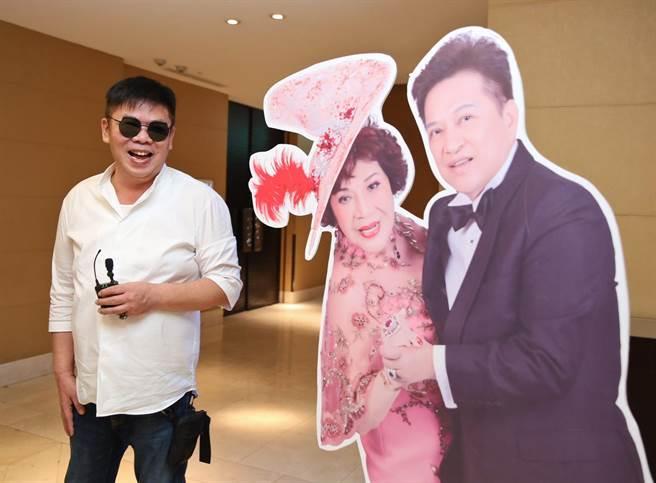 周遊的優秀導演兒子馮凱。(陳俊吉攝)