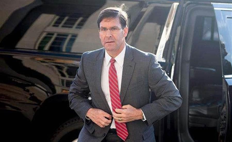 美國國防部長艾斯培(Mark Esper)。(圖片取自澎湃新聞)