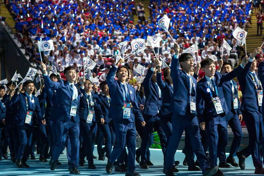 有技職奧運美譽的國際技能競賽今天開始舉行。(圖/WorldSkills 提供)