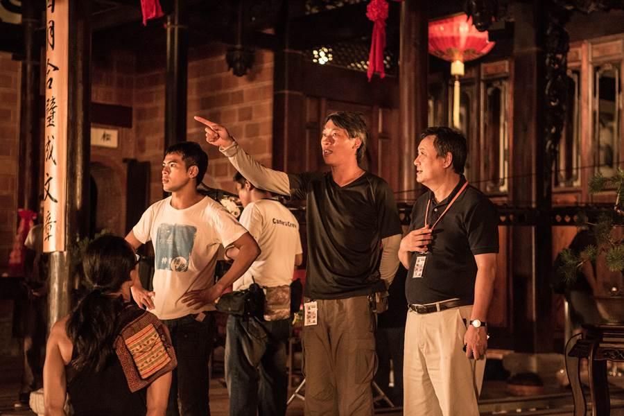 李崗擔任「阿罩霧風雲」監製,是以採戲劇重現式紀錄片,要說出「台灣人的故事」(李崗提供)