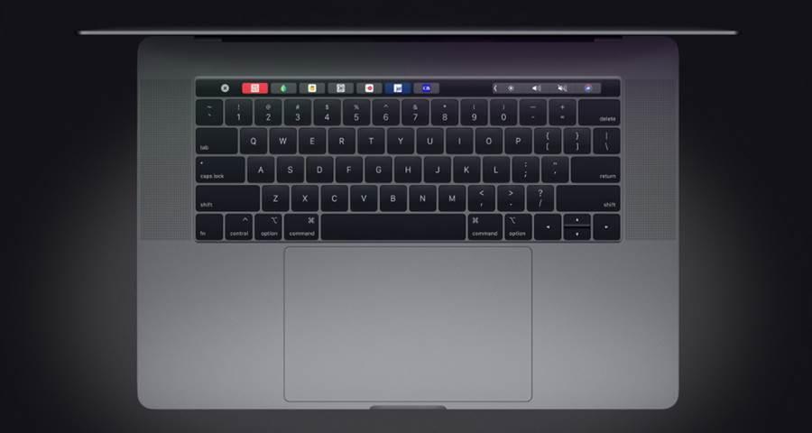 今年五月獲得更新的 MacBook Pro,仍舊採用蝶式鍵盤。(圖/翻攝蘋果官網)