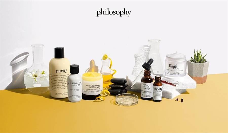 philosophy肌膚哲理 兼具理性與感性的生活保養美學。(philosophy提供)