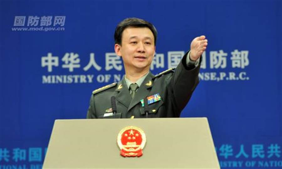 中國國防部新聞發言人吳謙。(圖/中國國防部官網)