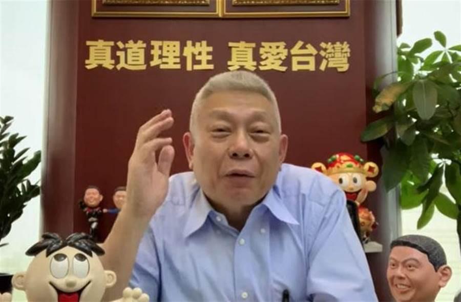 旺旺集團董事長蔡衍明今晚在網路直播處女秀。