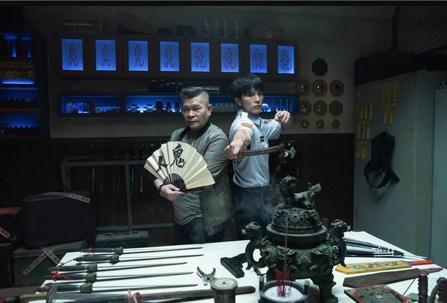 王鼎霖賦予電影演員澎恰恰(左)跟邱澤全新不同的一面。(取自網路)