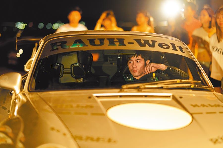 周杰倫在電影中全程自駕,還有甩尾鏡頭。
