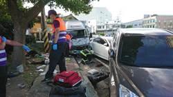 驚悚! 酒駕貨車衝撞波及志工  3人無生命跡象
