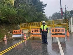 山區大雨不斷 中橫公路中午12點起封路