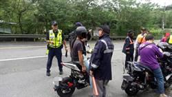板橋監理站、三峽警聯合稽查台7乙線改裝車