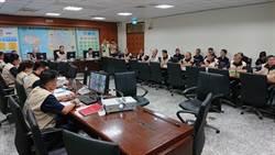 白鹿颱風來襲 南市警預防性監看防民眾涉險