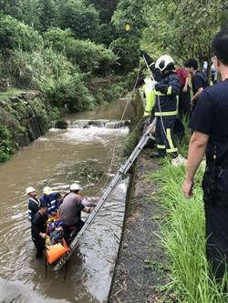 北市府颱風天清淤 73歲工人落水不治身亡
