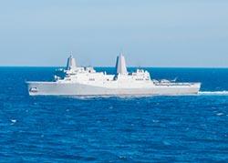 美大噸位兩棲艦 高調過台海