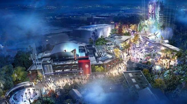 美國加州及法國巴黎迪士尼樂園將新建「Marvel Campus」園區。(翻攝自網路)
