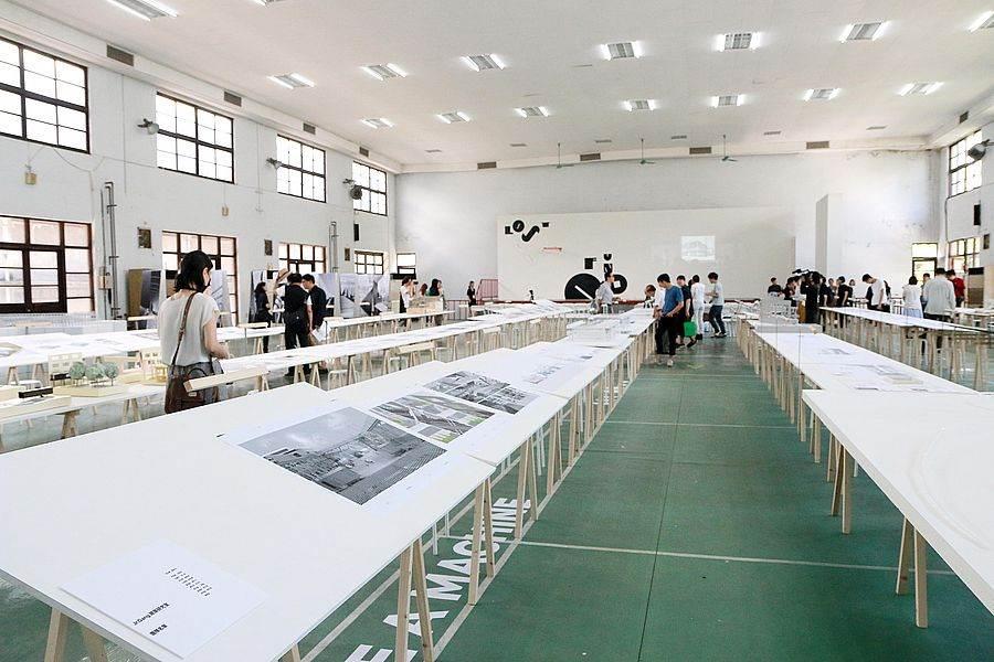 台北機廠「機械時代的失物招領」展場一隅 。(圖取自文化部官網)