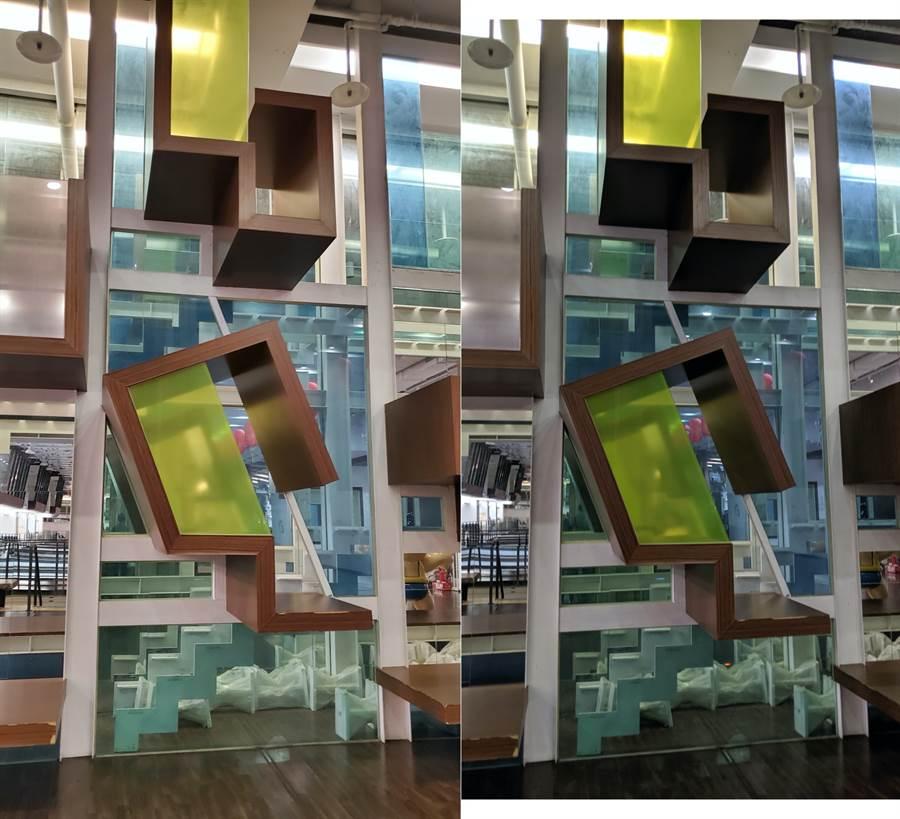 Galaxy Note 10 與 Pixel 3 室內對比照(1)。(圖/黃慧雯攝)