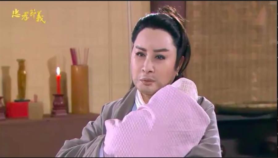 楊麗花《忠孝節義》飾演神醫,保護趙氏孤兒。(翻攝預告)
