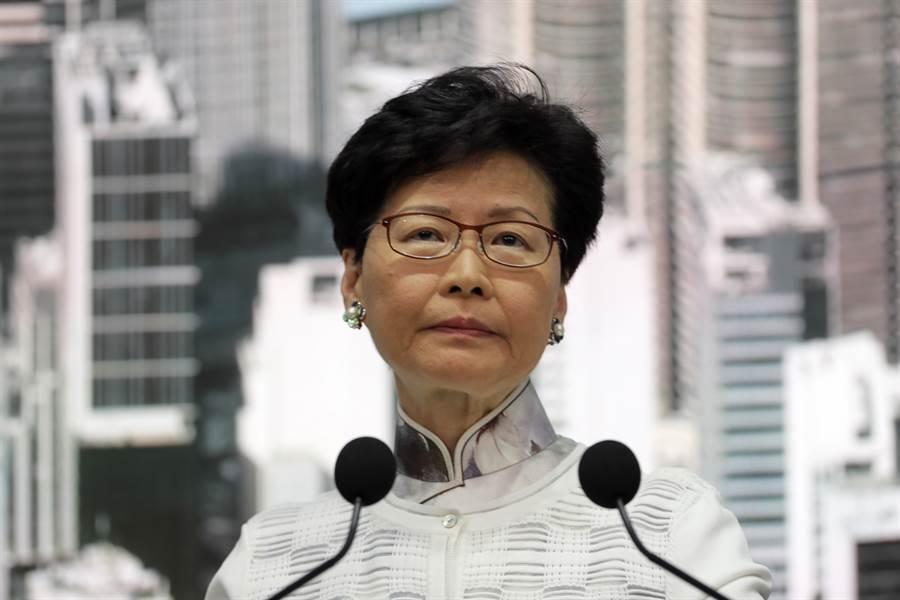 香港特首林鄭月娥。(圖/本報資料照)