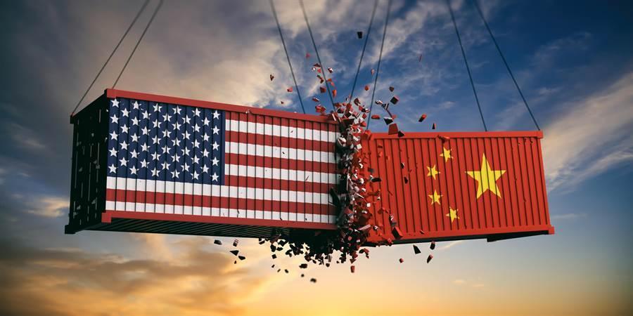 陆美贸易战升级,双方再度展开关税报復行动。(达志影像/Shutterstock)