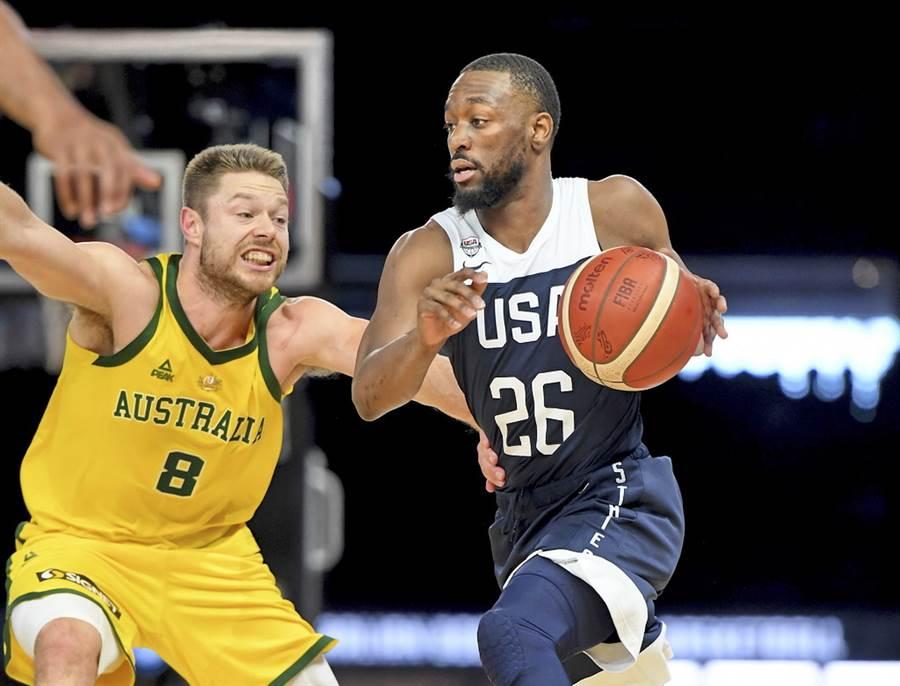 肯巴沃克將是這支美國男籃隊長的頭號人選。(美聯社)