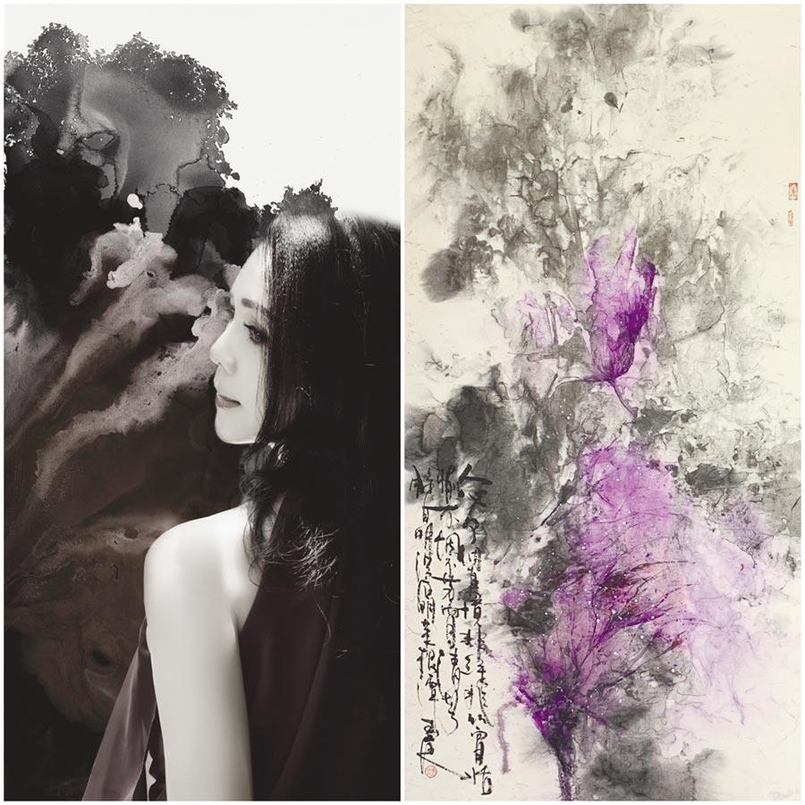 陳玉庭的作品以藝術文化傳遞正能量的佛法,深獲中外藏家青睞收藏。圖/陳玉庭提供