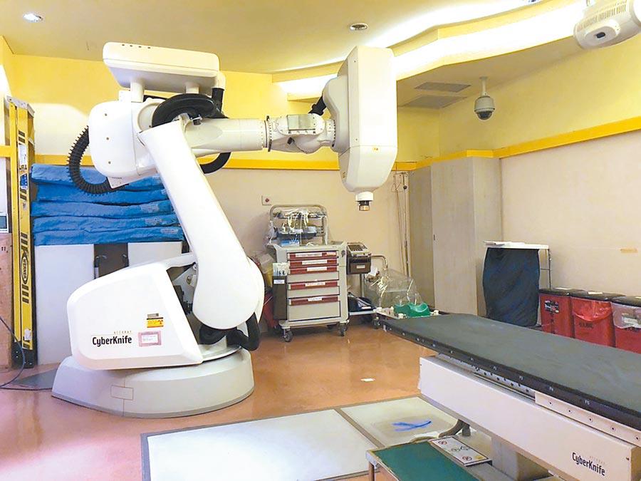 台大醫院導入AI系統,將用於3大常見腦瘤的臨床治療,短短30秒就能找出腫瘤位置。(中央社)