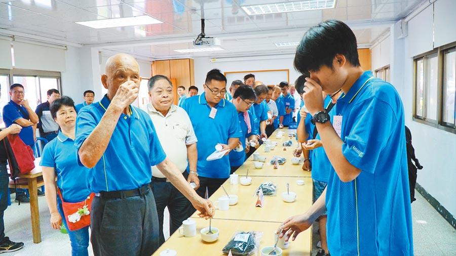 雙北2019年製茶技術競賽成績23日出爐。     (葉書宏翻攝)