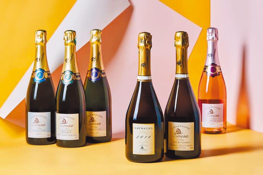 不管是香檳還是粉紅香檳,霞多麗都具有一定的使用分量。圖片提供誠品酒窖