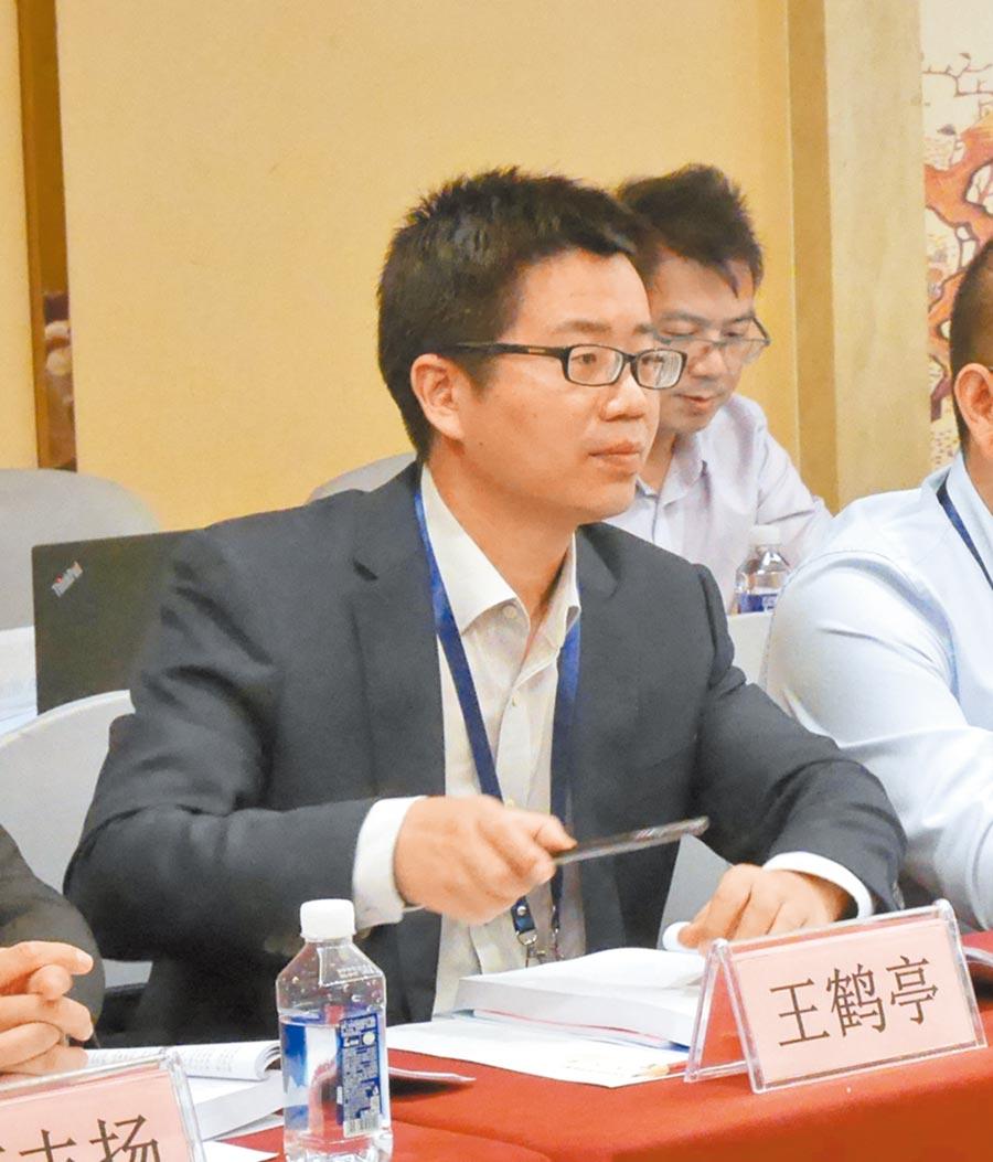 河南師範大學公共管理學院副教授王鶴亭。(記者陳君碩攝)