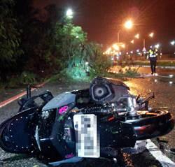 颱風剛過境 台南騎士疑樹倒刺穿胸部死亡