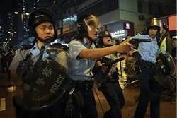 港警拔左輪手槍對示威者 警司承認開一槍