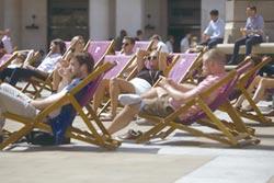 倫敦減少布料抗熱浪