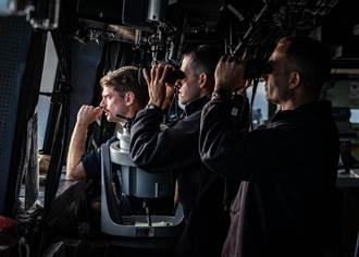 美海軍首度公布美艦監控台海照片
