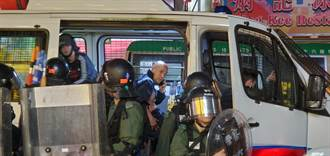 承認沙咀道開一槍 港警:軍裝警生命受威脅