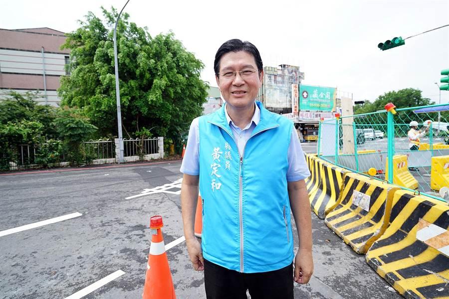 國民黨籍議員黃定和今天將陪同台北市長柯文哲參訪羅東夜市等地。(本報資料照片)