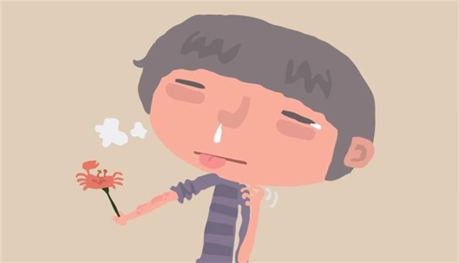 鼻子是對外開放的區域,又有耳咽管和耳朵相通,一旦阻塞就可能加重耳鳴狀況。(圖片來源:鄭佳玲)