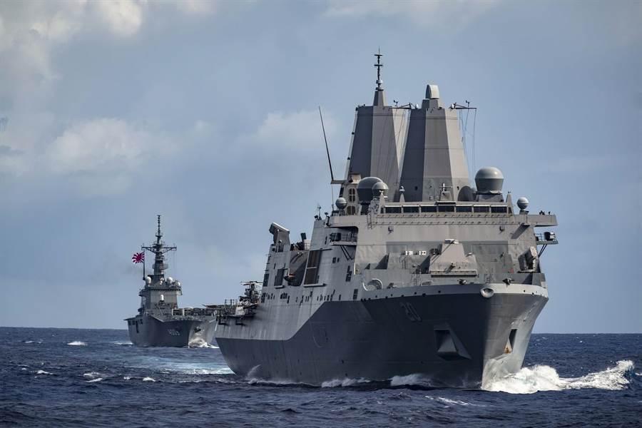 美國海軍綠灣號(前)USS Green Bay (LPD 20)(摘自美國海軍官網)