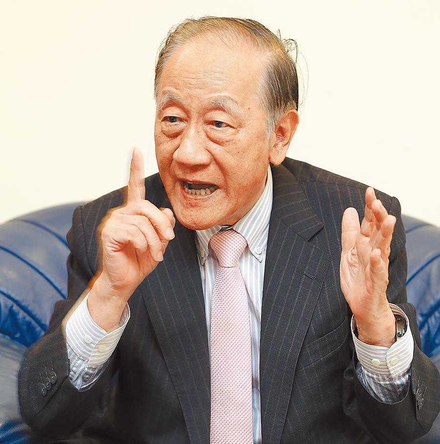 新黨主席郁慕明(本報資料照片)