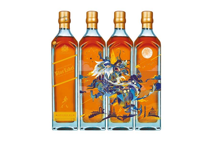 藍牌麒麟限定版全台限量 圖片提供帝亞吉歐