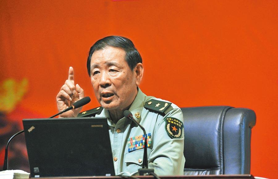 中國戰略文化促進會常務副會長兼祕書長羅援。(中新社資料照片)