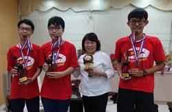 SAIMC青少年數學國際城市邀請賽 嘉義市子弟兵揚名