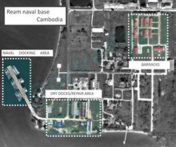 美印太司令部證實:陸將在柬埔寨建海軍基地