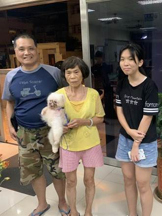 愛犬颱風夜走失 警辦狗案也不含糊1小時破案