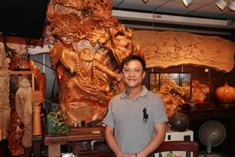 珍藏台灣一級木作品 謝洧銘留住三義木雕師傅