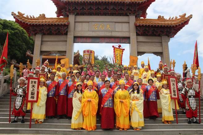 相傳農曆9月9日是媽祖得道升天的日子,連江縣政府每年都會舉辦「媽祖昇天祭」系列活動。(葉書宏攝)