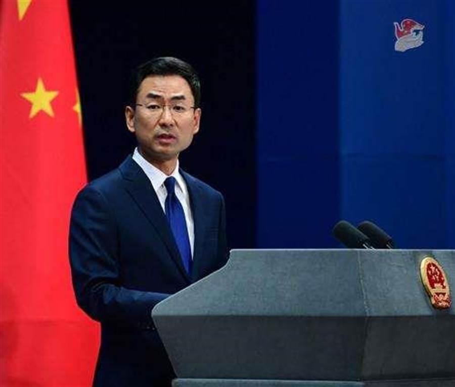 中國外交部發言人耿爽。(圖/新華社)