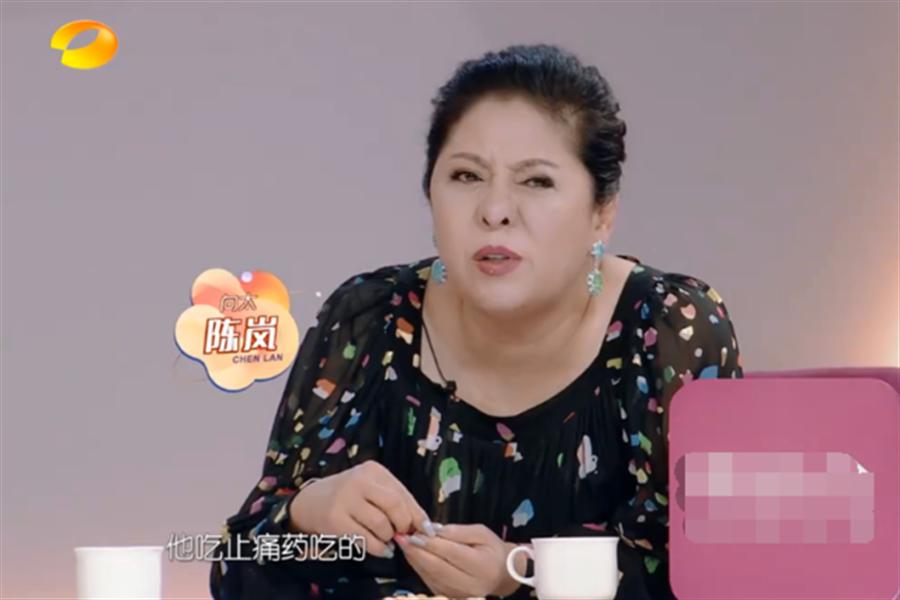 向佐的媽媽陳嵐也表示,練武受傷後太常吃止痛藥導致的。(圖/翻攝自微博)