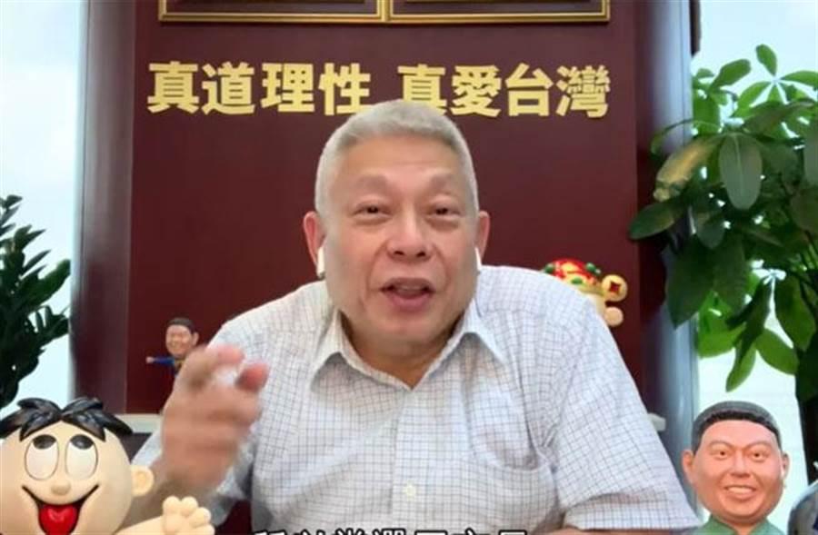 旺旺集團董事長蔡衍明踏足「YouTuber」後,網友迴響十分大。(圖/擷自【旺董開講】)