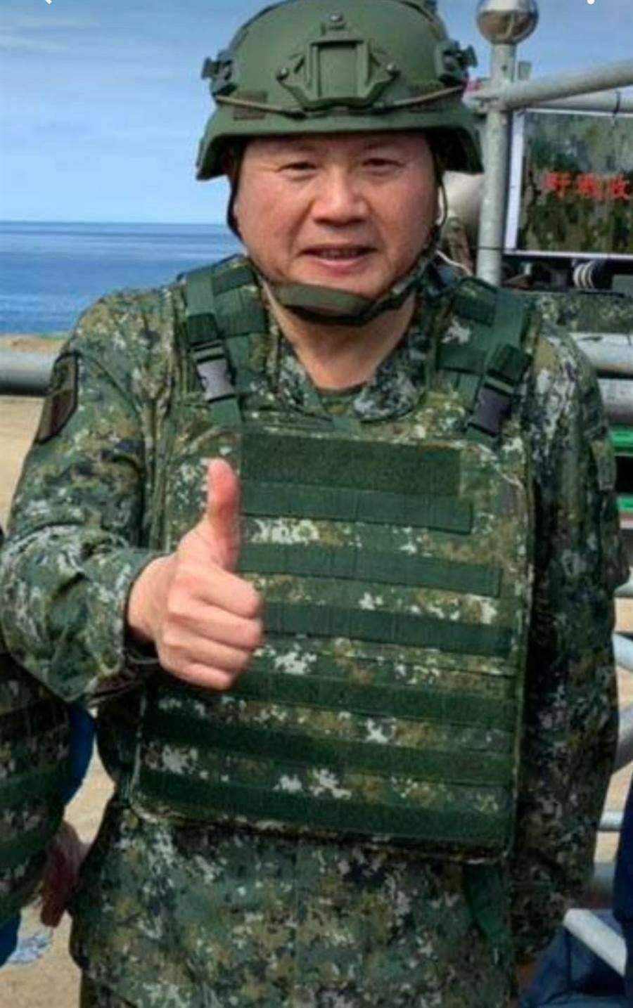 陸軍政戰主任簡士偉中將9月1日可望升任國防部政戰局長。呂昭隆攝